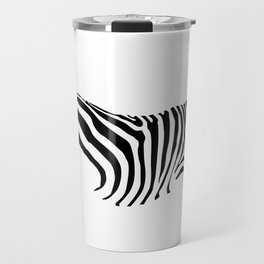 The Savanna Series 002: Zebra Travel Mug