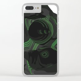 Symbiotic masking Clear iPhone Case