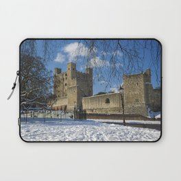 Rochester Castle in Snow Laptop Sleeve