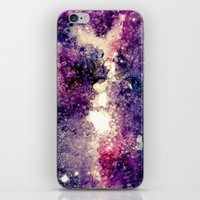takmaj iPhone & iPod Skins featuring watercolor galaxy by takmaj