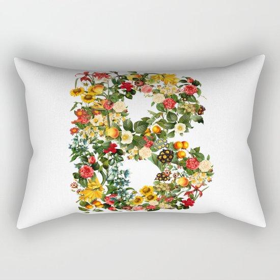 B FLOWER Rectangular Pillow