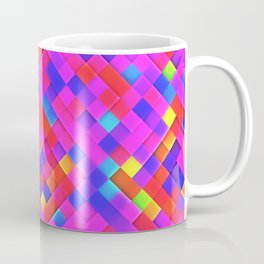 Happy Bright Mosaic Coffee Mug