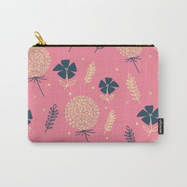 flower pattern spring leaves Carry-All Pouch