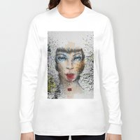 make up Long Sleeve T-shirts featuring Make up by Ryan Eduad