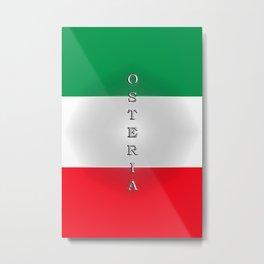 Italia Osteria Metal Print
