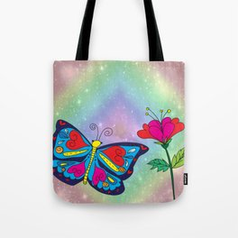 Love like a butterfly Tote Bag