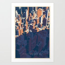 INDEPENDANCE DAY Art Print