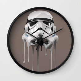 Stormtrooper Melting Wall Clock