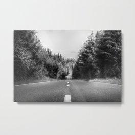 Denbigh Moors - Evo Triangle, B4501 Road Metal Print