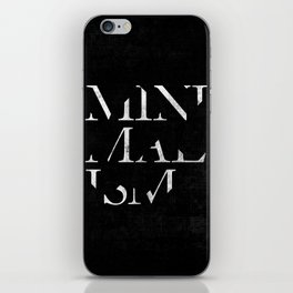 Minimalism iPhone Skin
