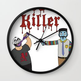 Juggalo Killer Wall Clock