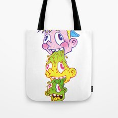 PukeFace Tote Bag
