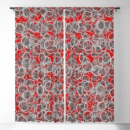 I Want to Ride My Bicycle Blackout Curtain