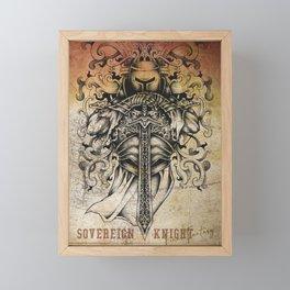 Sovereign Knight Framed Mini Art Print