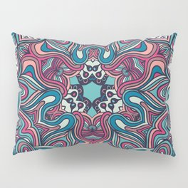 psychedelic ornament Pillow Sham