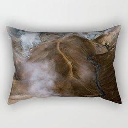 Kerlingarfjöll mountain range in Iceland - Aerial Landscape Photography Rectangular Pillow