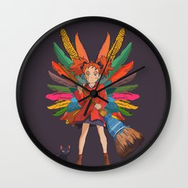 Mary and the Witch's Flower 2 Wall Clock