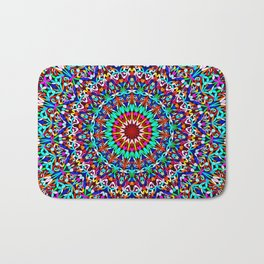 Colorful Life Garden Mandala Bath Mat