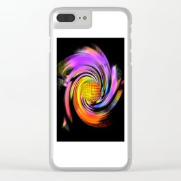 Abstract Perfection 26 Clear iPhone Case