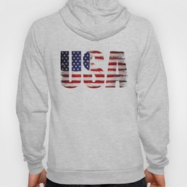 USA flag Grunge Hoody