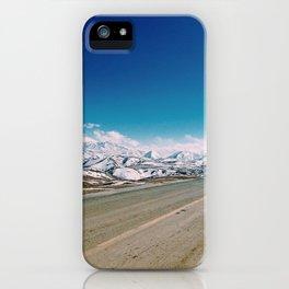 Tibetan highway iPhone Case