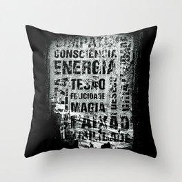 Energia Throw Pillow