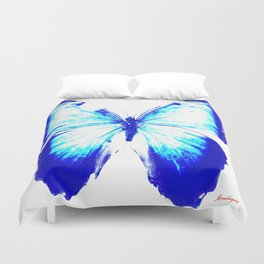 flies into the light Duvet Cover
