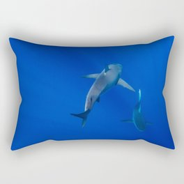 Hawaiian Shark III Rectangular Pillow