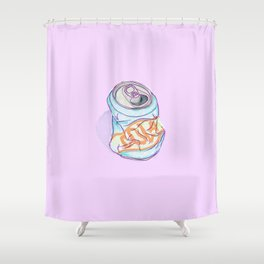 Cola Can Shower Curtain