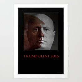 TRUMPOLINI 2016 Art Print