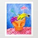 Tiki Drink no.2 with banana dolphin by sewzinski