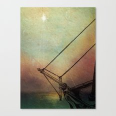 Gently Guided Ship Canvas Print