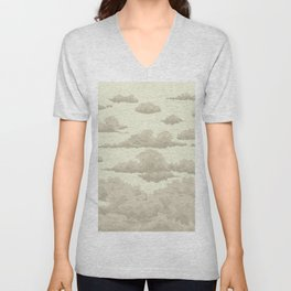 clouds Unisex V-Neck
