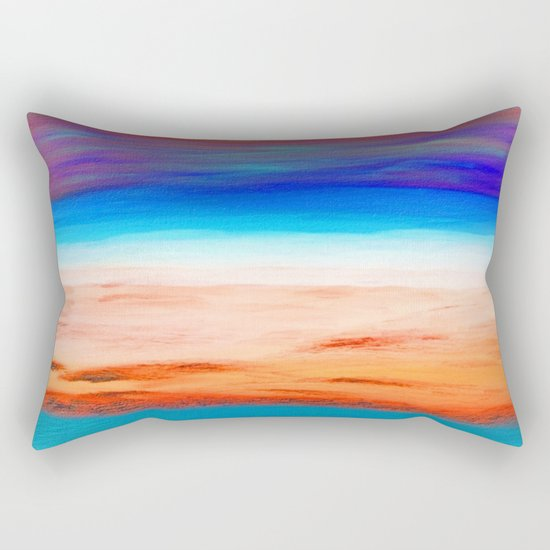 The Island Rectangular Pillow