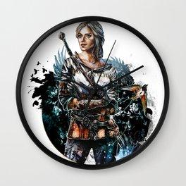 Ciri 2 - The Witcher Wild Hunt  Wall Clock