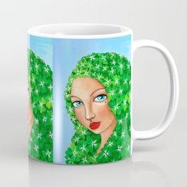 Crimson & Clover Coffee Mug