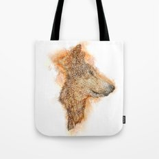 Wolf Flare Tote Bag
