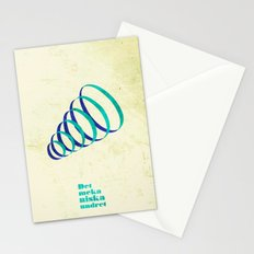 Saltholmen original artwork by Det mekaniska undret Stationery Cards