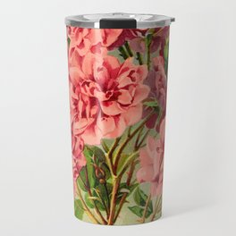 Our New Guide to Rose Culture 1895-1908 - Pink Baby Rambler Travel Mug