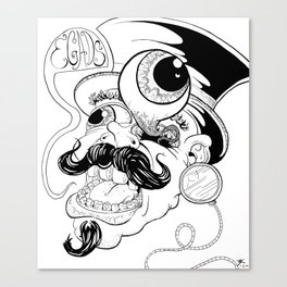 EGADS MAN! Canvas Print