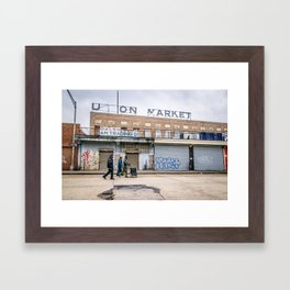 We Run These Streets Framed Art Print