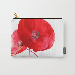 Poppies (duet) Carry-All Pouch