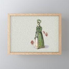 Pride & Prejudice - Zombified Framed Mini Art Print