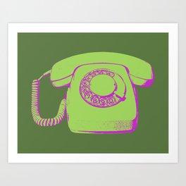 FAVOURITE90 - Telephone Art Print