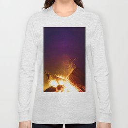 The Fire Sunset (Color) Long Sleeve T-shirt