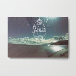 Sail the Skies Metal Print