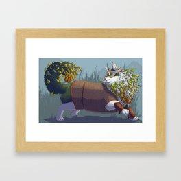 Norwegian Forest Cat Framed Art Print