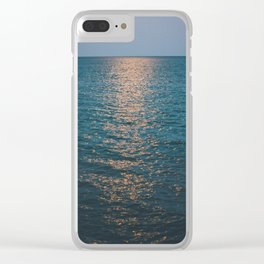 Moonlight Lake Clear iPhone Case
