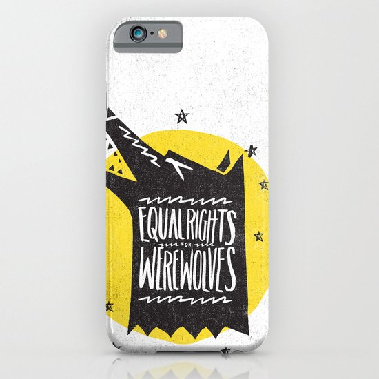 WEREWOLF RIGHTS iPhone & iPod Case