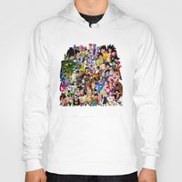 dragonball z Hoodies featuring DragonBall Z - Insane amount of Characters by Mr. Stonebanks